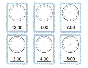 Time Flashcards
