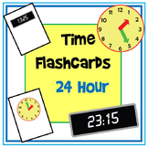 Time Flashcards - 24 Hour Time