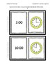 Time Flashcards First Grade