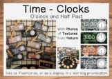 Time - Flashcards and Display O'Clock & Half-Past
