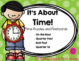 Time Flashcards and Puzzles