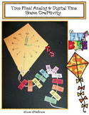 Time Flies: Kite-Themed Analog & Digital Time Craft & Game