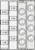 Time Flies! Analog/Digital Time-hour, half, quarter, 5 minute, minute