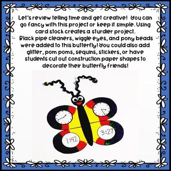 Time Flies Butterfly Project Freebie!