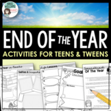 "End of Year Activities - ""Time Flies..."""