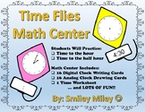 Time Flies Math Center - Time to the hour and half hour