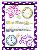 Time Flies On...- A Spring Themed Time craft activity