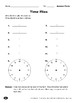 Time Flies (Telling Time/Calculating Elapsed Time)