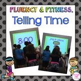 Telling Time Fluency & Fitness Brain Breaks Bundle