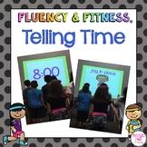Telling Time Fluency & Fitness Brain Breaks Bundle