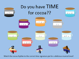 Time For Cocoa: Winter Time Signature Bulletin Board Kit
