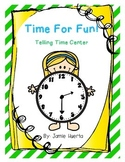 Time For Fun {telling time center}