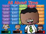 Time Jeopardy Style Game Show - 2nd Grade
