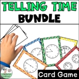 Time Go Fish Math Review BUNDLE 5 games