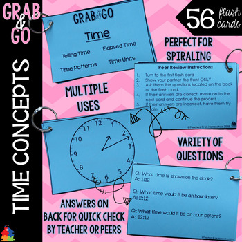 Time Grab & Go Flashcards
