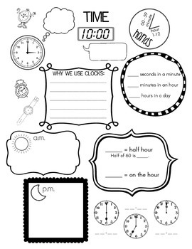 Time- Guided Notes WS