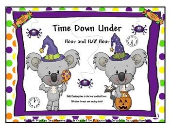 Time: Halloween Koala ( Hour and Half Hour)