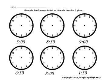 Time Hands