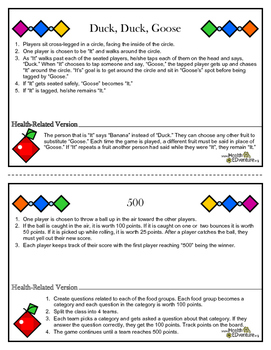 Physical Activity: Old Fashioned Games for Indoor and Outdoor Fun