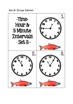 Time - Hour & 5 Minute Intervals