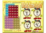 Time: Hour and Half Hour Clipart