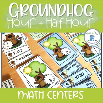Time Hour and Half Hour Groundhog Theme