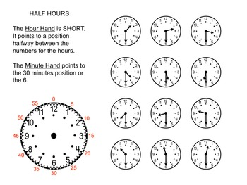 Time Hour and Half Hour - How Time Flies
