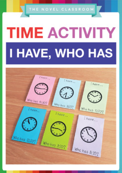 Time I Have, Who Has - Math Game
