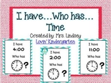 Time I have...Who has?