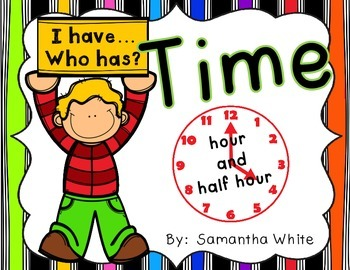 Time - I have...Who has?
