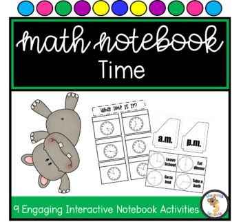 Time Interactive Notebook Unit