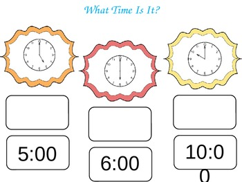 Time Interactive Slideshow (Hour, Half Hour, 5 Min)