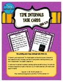 Time Intervals Task Cards TEKS 3.7C