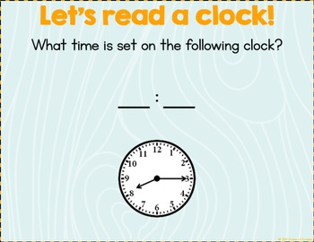 Time Introduction PowerPoint