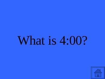 Time Jeopardy