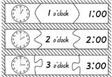 Time Jigsaw hour and half hour