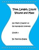 Time, Length, Liquid Volume, and Mass (3rd Grade Go Math Chapter 10)