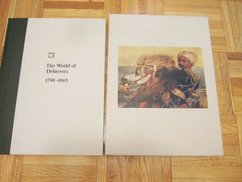 ART HISTORY Time Life Books Collection The World of DELACR