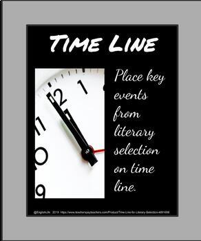 Time Line for Literary Selection