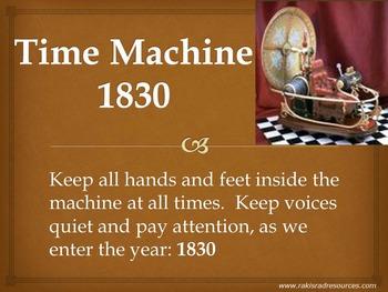 Time Machine: 1830 - Power Point Presentation