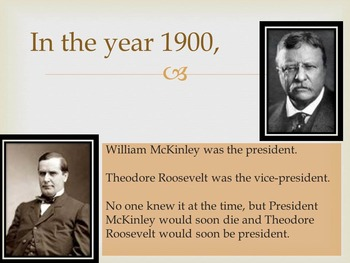 Time Machine: 1900 Powerpoint Presentation