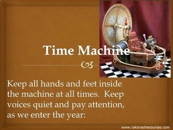 Time Machine Bundle - American History Power Point Presentations