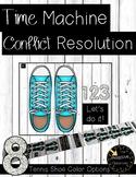 Time Machine for Conflict Resolution (Tennis Shoes) -> Conscious Discipline