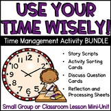 Time Management Lesson Plan Activity Set