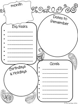 Time Management Helps - Calendars, Check Lists, To Do Lists