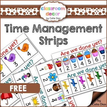 Time Management Interactive Strips
