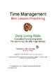 """DLS Mini-Lesson """"Prioritizing""""  from Time Management Workbook"""