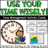 Time Management Sorting Activity