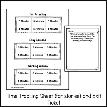 Time Management Story Scripts