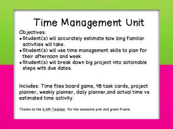 Time Management Unit
